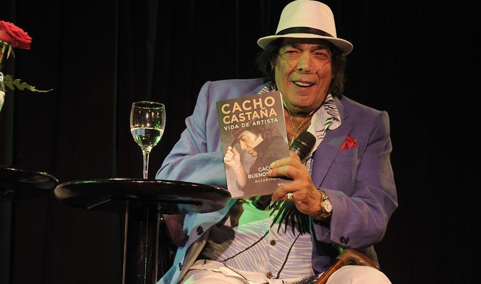 Cacho Castaña murió a los 77 años.