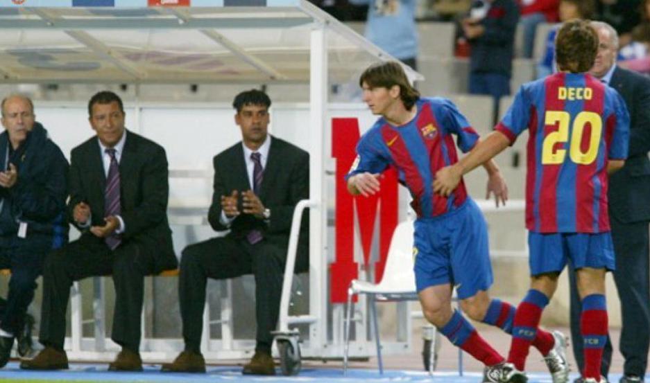 Se cumplen 15 años del debut de Messi en Barcelona