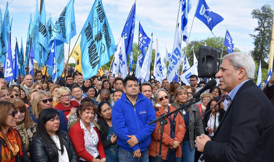 """MENSAJE. """"La justicia social es fundamental para volver a tener futuro y esperanza en la Argentina"""", dijo Neder."""