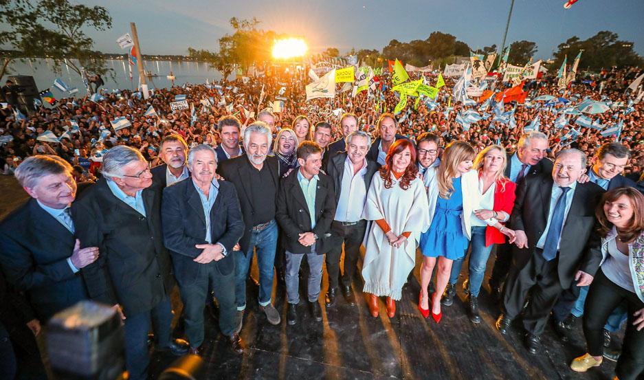 """PROYECTO. """"Vamos a construir una Argentina que nos incluya a todos"""", prometió Alberto Fernández."""