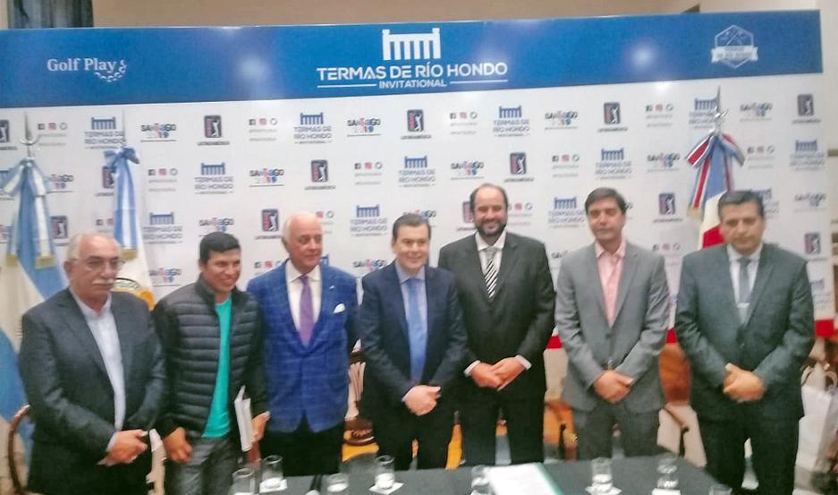 LANZAMIENTO. Mediante una conferencia de prensa encabezada por el Dr. Gerardo Zamora, se presentó la llegada del PGA Latinoamericano.
