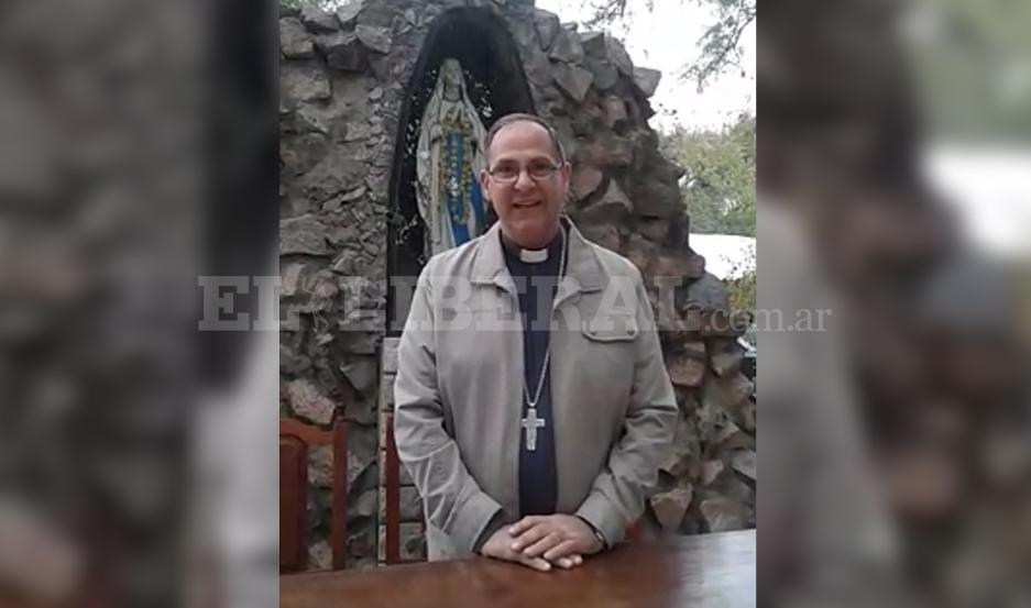 Monseñor José Luis Corral.