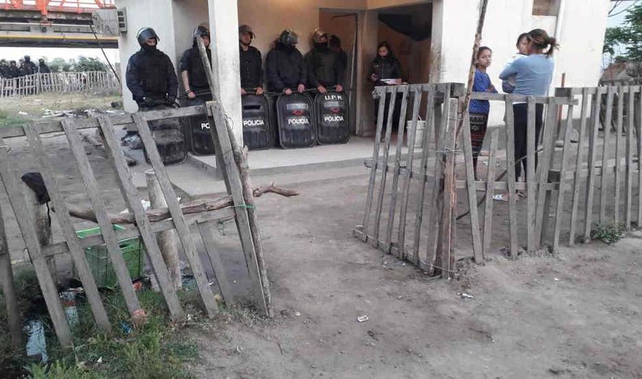 El incidente ocurrió en el barrio La Isla y los protagonistas residían en el barrio Río Dulce.