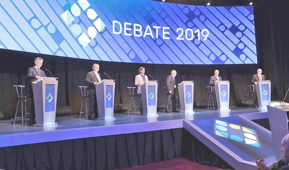 Debate Presidencial 2019.