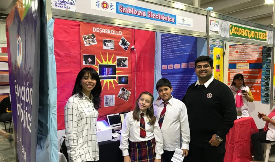 Los alumnos fueron coordinados por los docentes Facundo Quiroga y Ana Carolina Moreno.