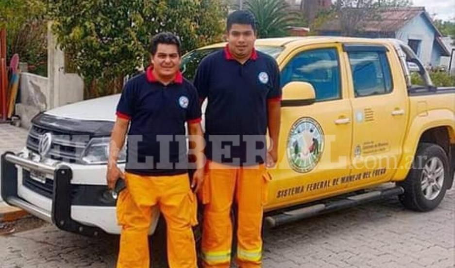 Luis Maldonado y José Luis Gordillo participaron de la capacitación.