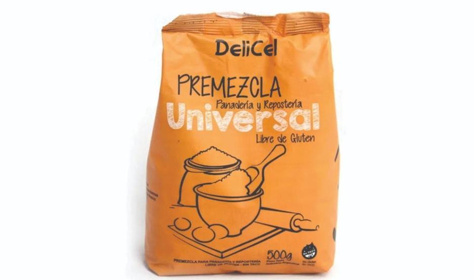 Premezcla universal libre de gluten.