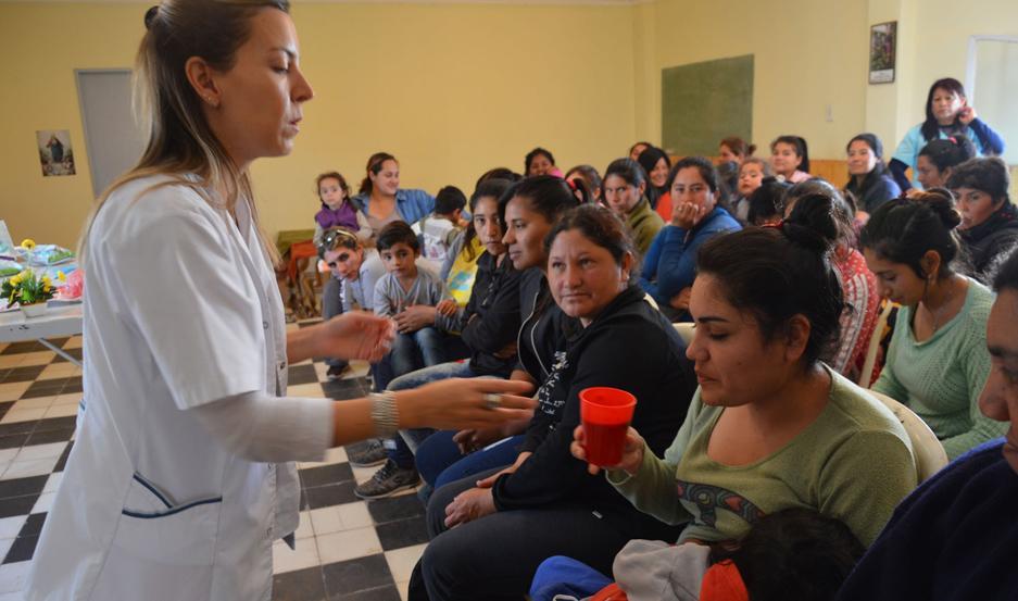 La capacitación tuvo lugar en la localidad de Colonia San Juan.