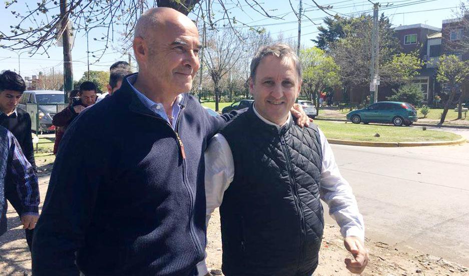 Juan José Gómez Centurión, mientras recorría la provincia de Buenos Aires con Gustavo Álvarez.