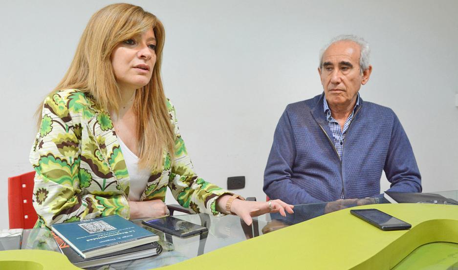 PRECISIONES. La licenciada Roxana del Castillo y el doctor Jorge Degano abordaron la temática en EL LIBERAL.