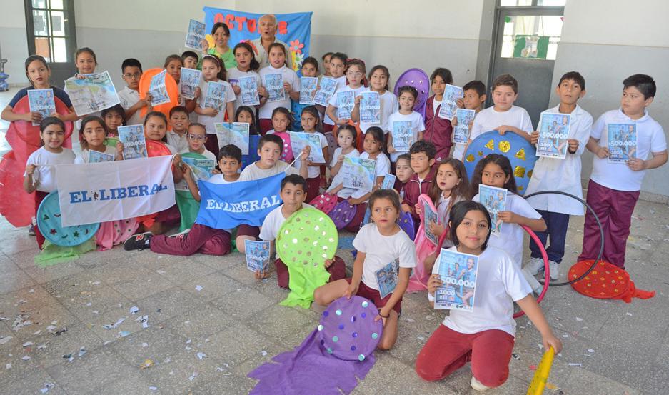 PRESENTACIÓN. Los pequeños alumnos ofrecerán una muestra que será de atracción de todos cuando el próximo 10 de noviembre se realice el Maratón.