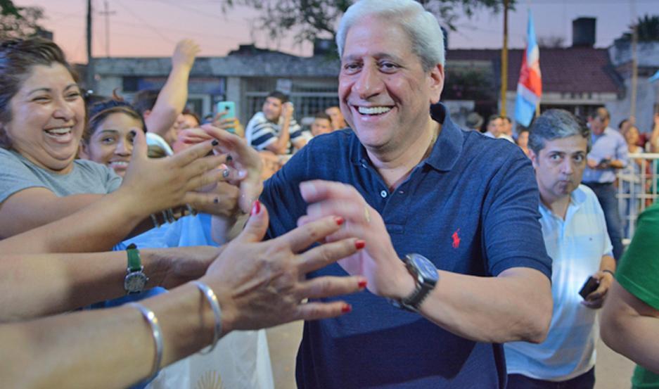 """""""Pichón"""" Neder elogió la conducta y la participación de los santiagueños en estas elecciones."""
