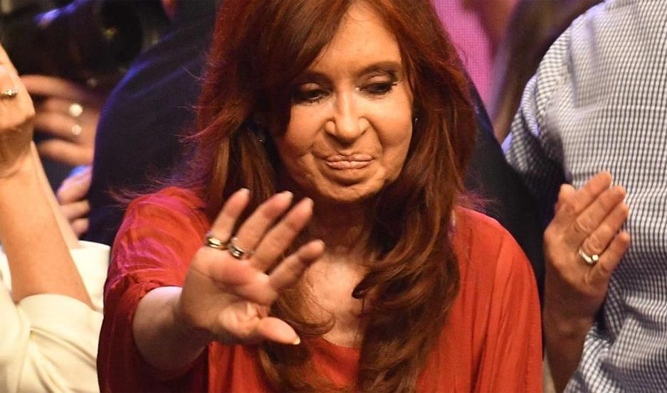 Cristina Fernández.