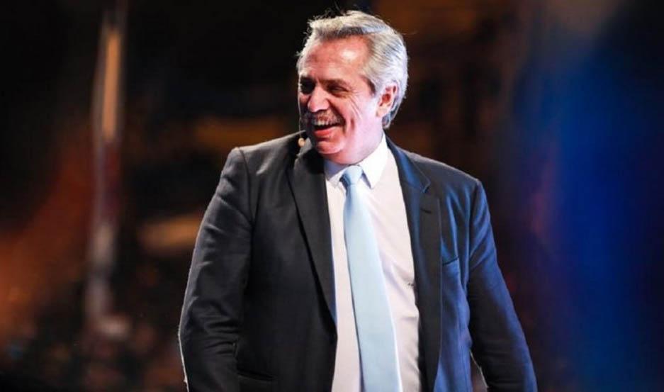 Alberto Fernández, presidente electo.