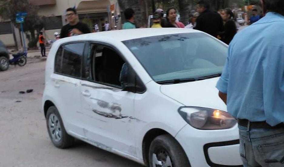 Los dos vehículos fueron secuestrados y las víctimas, internadas.