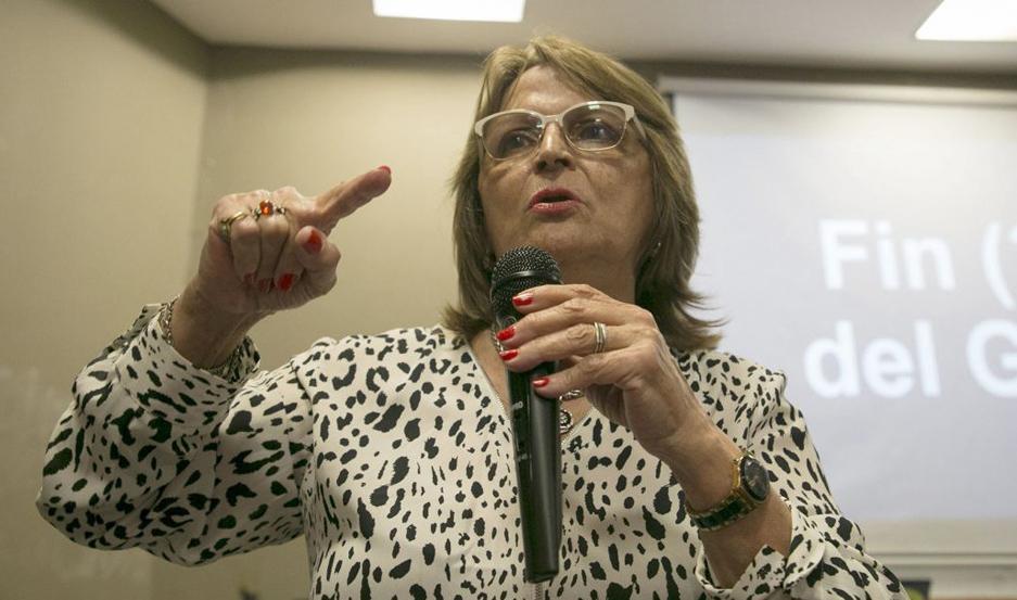 INTERÉS. Isabel Requejo tendrá una participación importante durante el evento cultural que se inicia hoy.