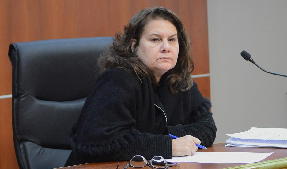 JUEZA. Dra. Cecilia Laportilla.