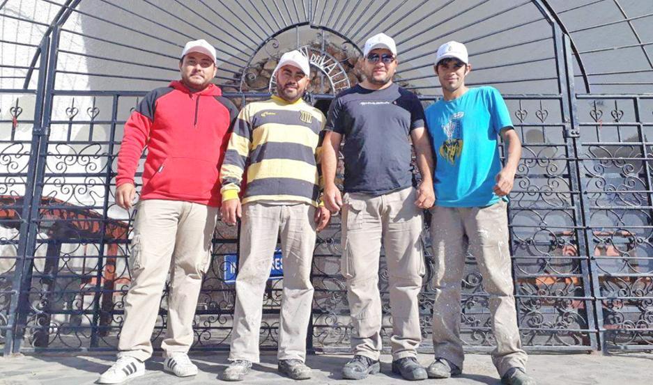 Los trabajos finalizaban hoy para los obreros santiagueños.