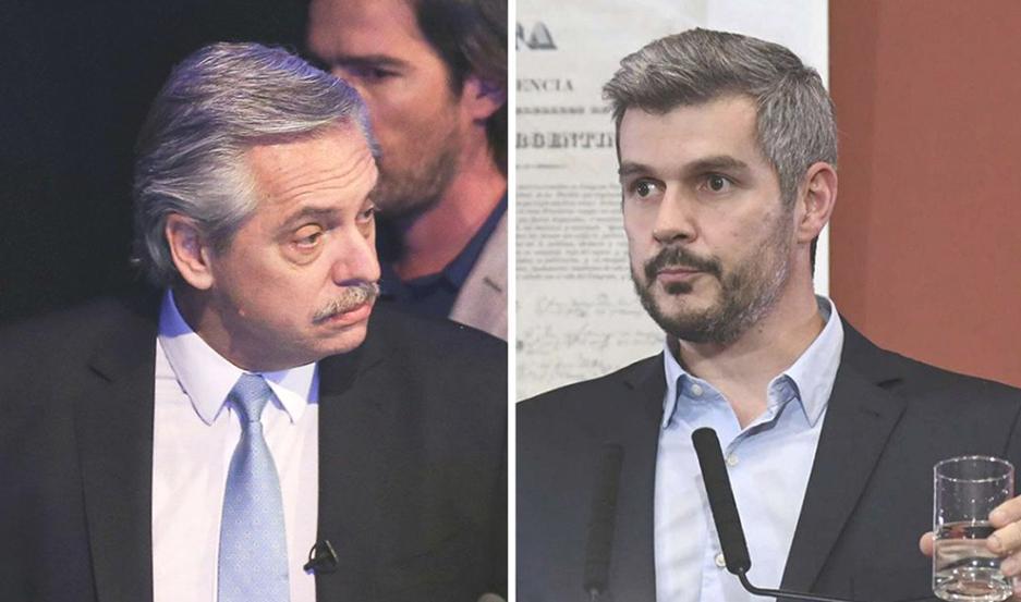 """Alberto acusó a Marcos Peña de escribir """"absurdos informes"""" y de presentar """"una Argentina que no existe""""."""