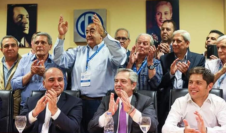 El vicegobernador participó del encuentro que se desarrolló en la sede central de la CGT.