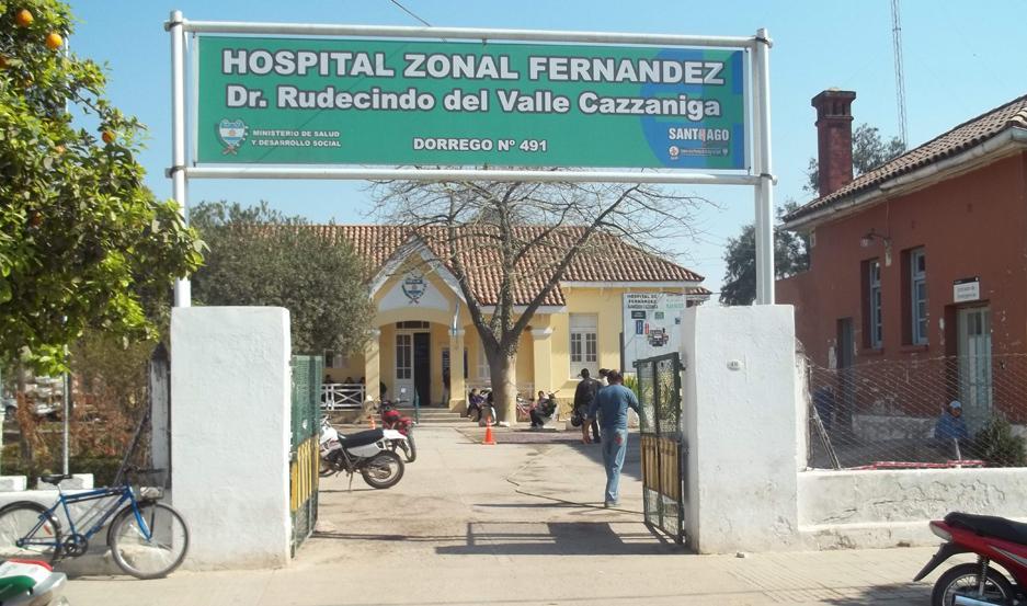 ASISTENCIA. A raíz de la lesión, el uniformado fue trasladado al Hospital Zonal.