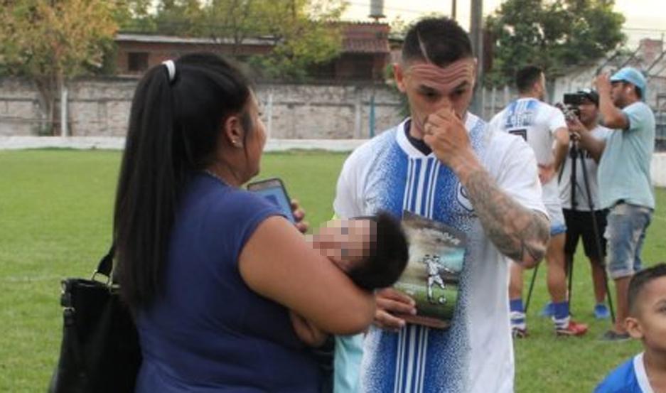 Cecilia entrevistó a los protagonistas tras el encuentro. Fotos: Jujuy al Momento.