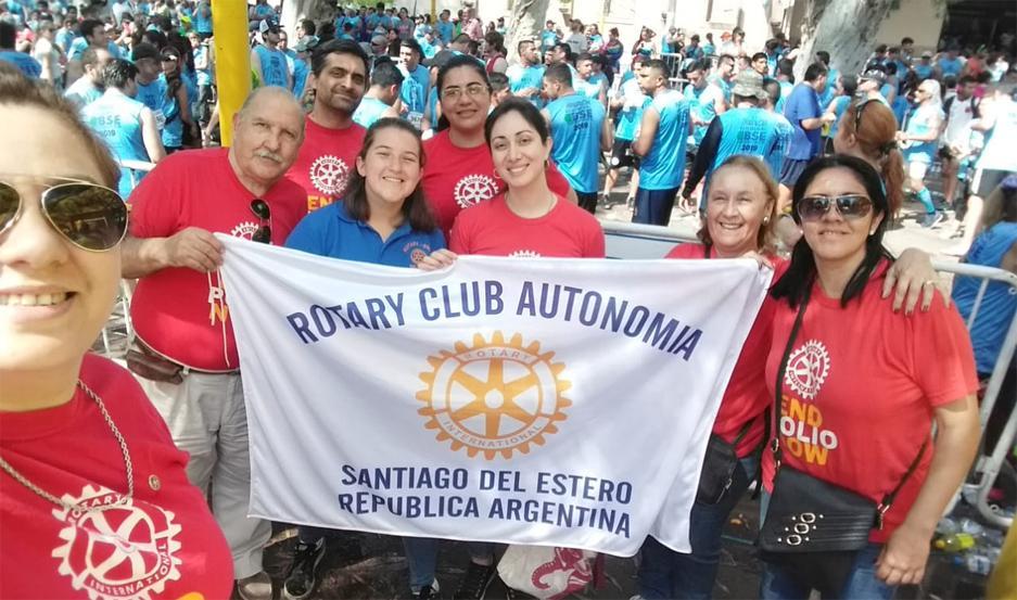 Integrantes del Rotary Club Autonomía