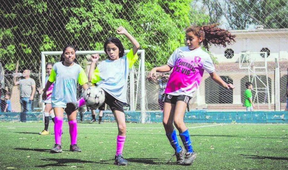 Es la primera vez que se realiza un torneo para niñas.