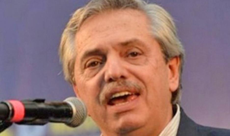 Alberto Fernández.