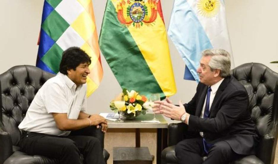 La llegada a la Argentina de Evo Morales ya había sido confirmada por el entorno del presidente electo.