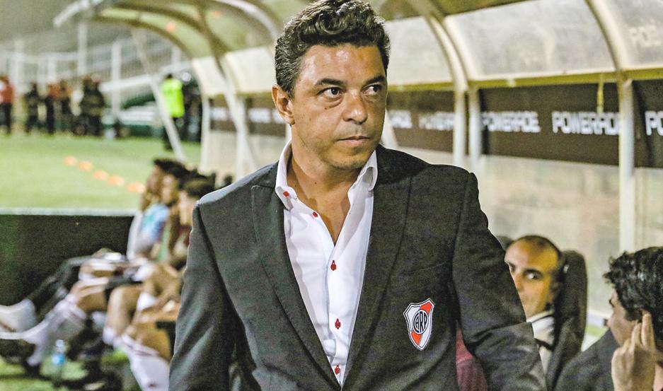 DECLARACIONES. Marcelo Gallardo reconoció que no era fácil afrontar un partido como el de anoche, teniendo el duelo ante Flamengo muy cerca.