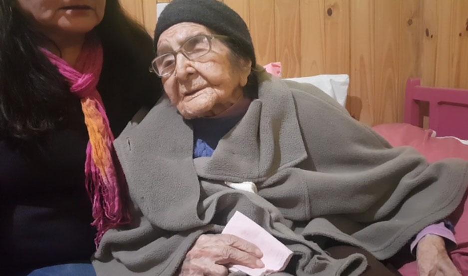 Doña Teodora tenía 107 años.