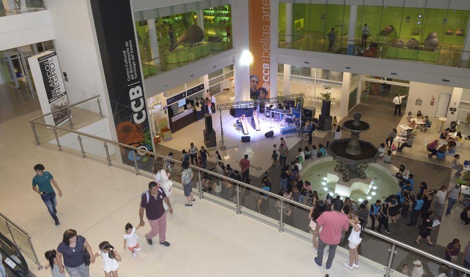 El evento tuvo lugar en el CCB.