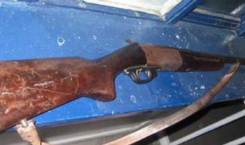 El arma fue secuestrado. Foto | Archivo
