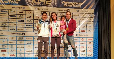 Lucía Moyano alcanzó el podio en Villa La Angostura - Deportivo | El Liberal - El Liberal Digital