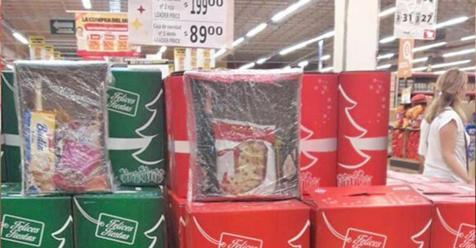 En Santiago comenzaron a ofrecer cajas navideñas desde $250 a $1.000 - Economía   El Liberal - El Liberal Digital