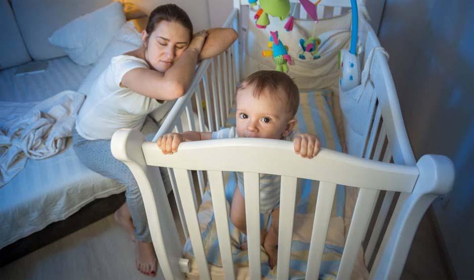Los trastornos del sueño provocan que los niños se despierten con frecuencia durante la noche, alterando así su rutina habitual.