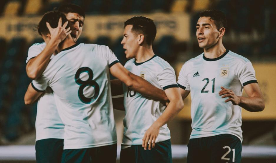 La Sub 23 le ganó a Brasil con gol de Capaldo