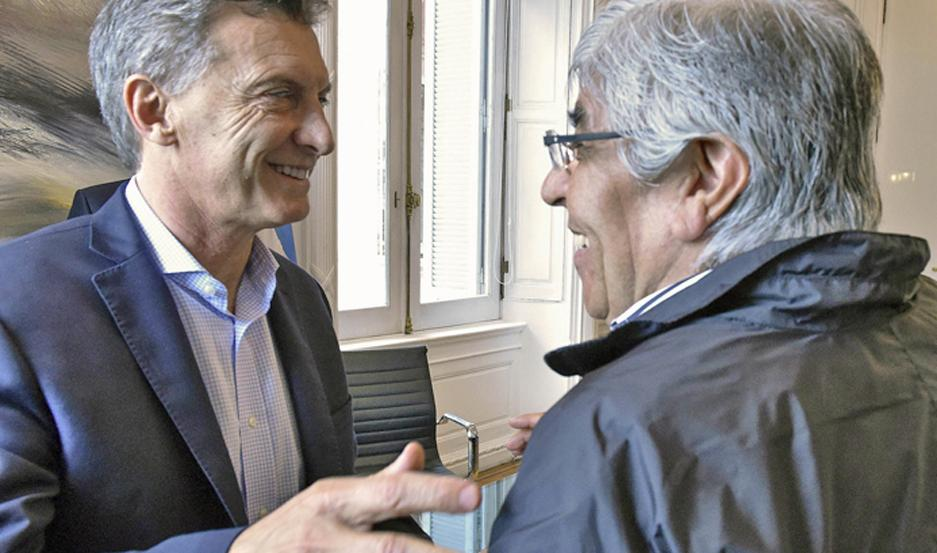 "Moyano reiteró que Macri ""cometió errores muy graves"""