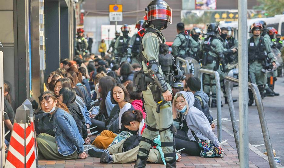 La Policía detuvo a 40 personas por ocupar campus universitario
