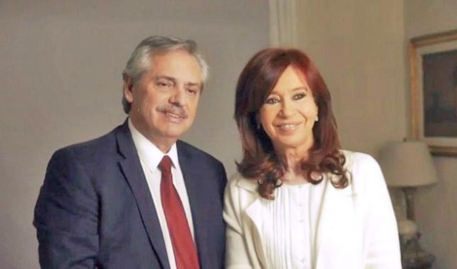 Fernández y la vicepresidenta electa se dieron cita en el departamento que la ex mandataria tiene en Recoleta.