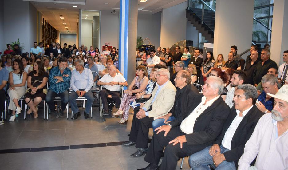 TRAYECTORIA. Músicos santiagueños de diferentes géneros fueron distinguidos por la Legislatura provincial.