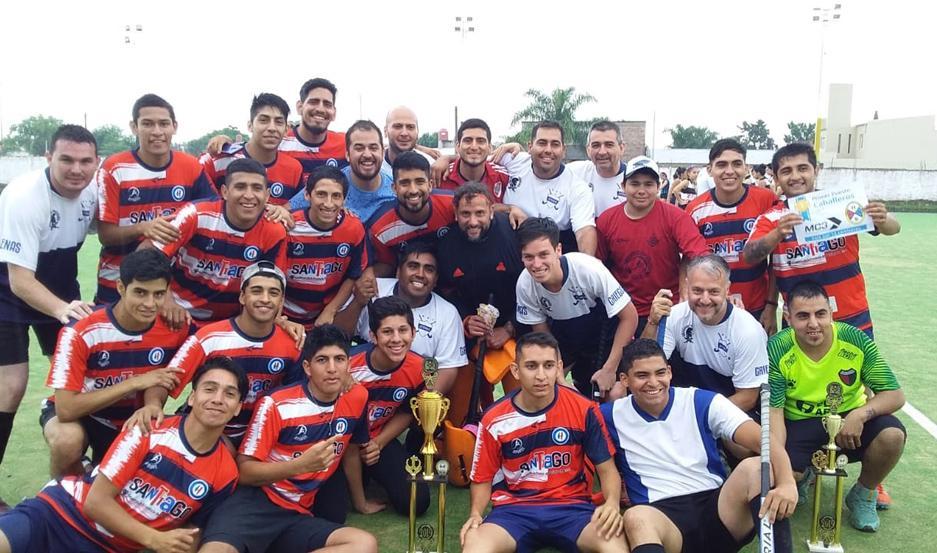 FELICES El seleccionado masculino terminó invicto en el certamen. En la final venció a San Luis 1 a 0.