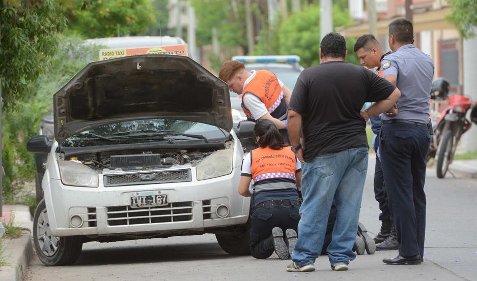 Los asaltantes interceptaron el remís en 24 de Septiembre y Dorrego. Huyeron con $ 2.431.080.