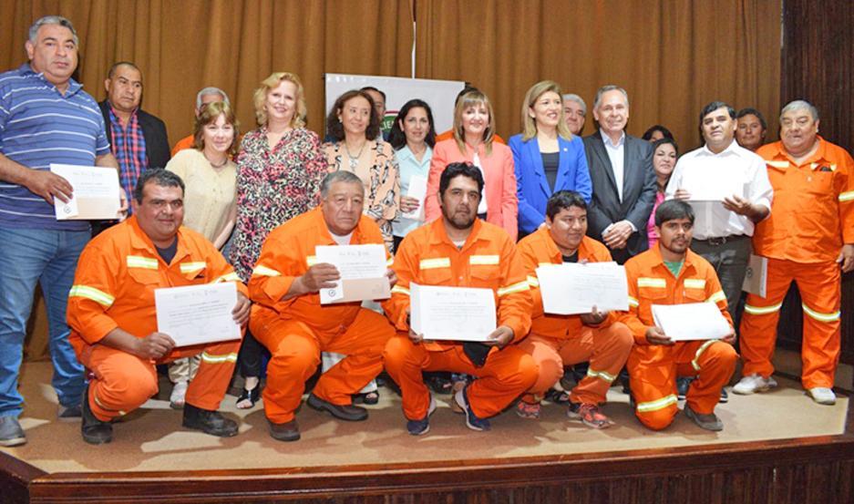 INSTRUCCIÓN. Los cursos de capacitación estuvieron destinados a personal del Centro Operativo Nº 4.