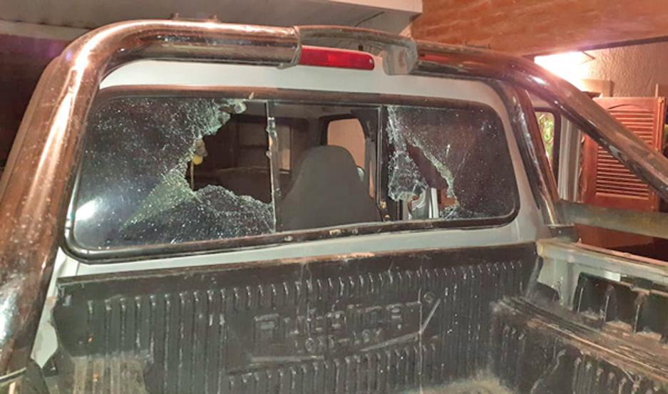 DENUNCIA. Por el hecho, al menos cinco vecinos realizaron denuncias por los daños en sus domicilios.