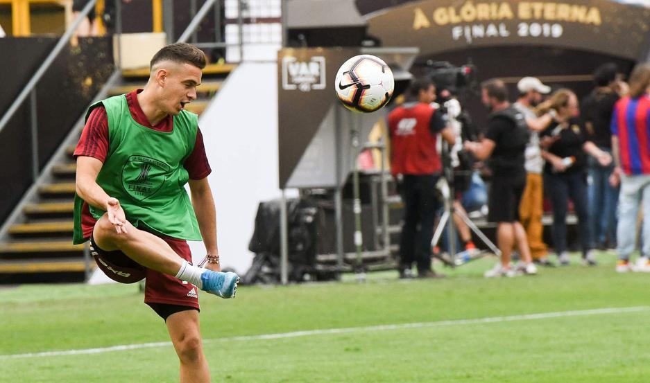 El colombiano Santos Borré buscará seguir haciendo historia con el Millonario.