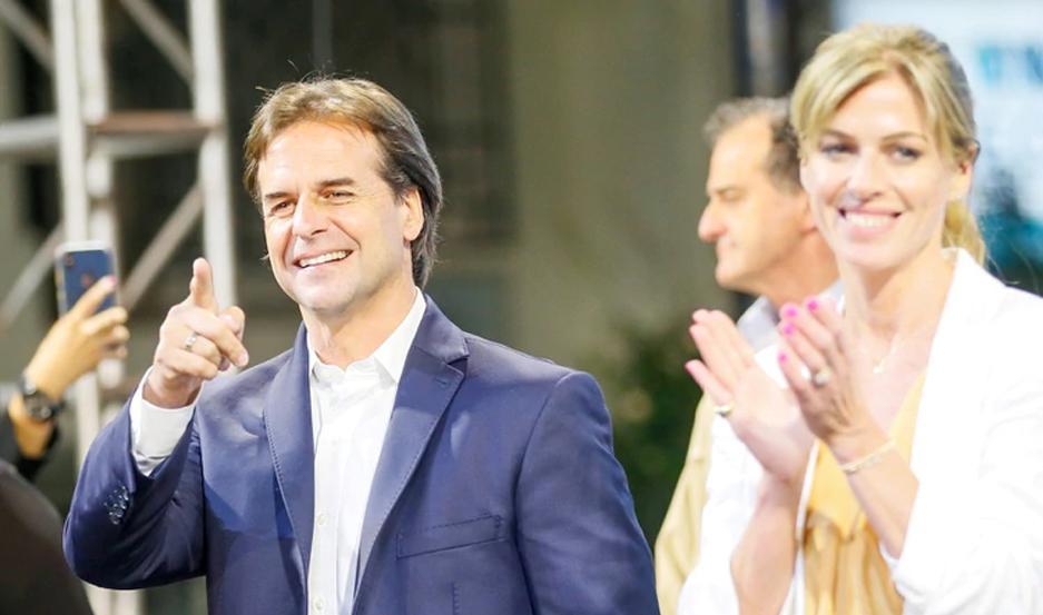 La victoria de Lacalle Pou fue reconocida hasta por su principal rival en las elecciones.