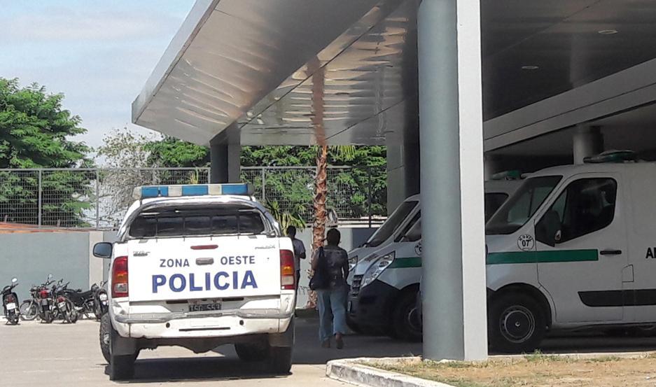 BRUTAL. La víctima fue trasladada al Centro de Salud Banda. Los delincuentes son buscados.