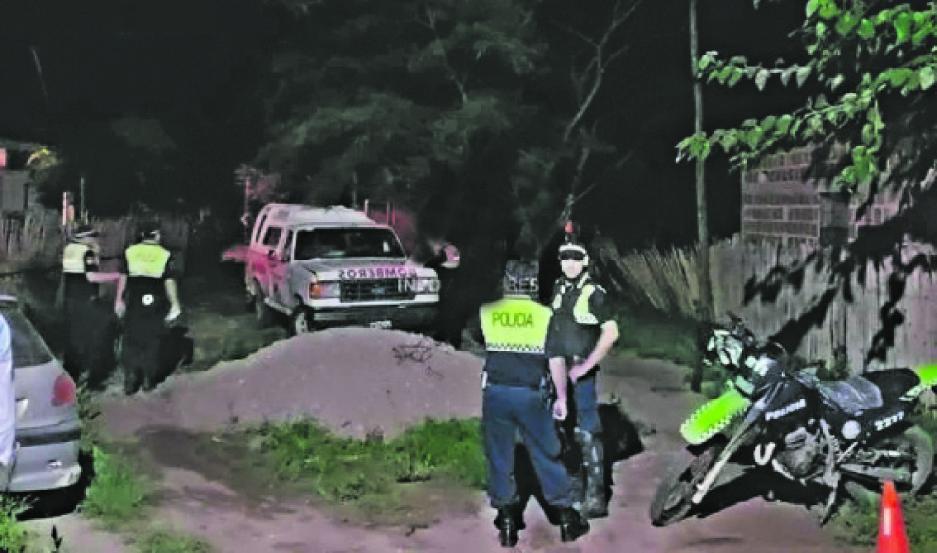 CRIMEN. La mujer sufrió lesiones gravísimas que le causaron la muerte de inmediato. Foto: Eldiario24.com
